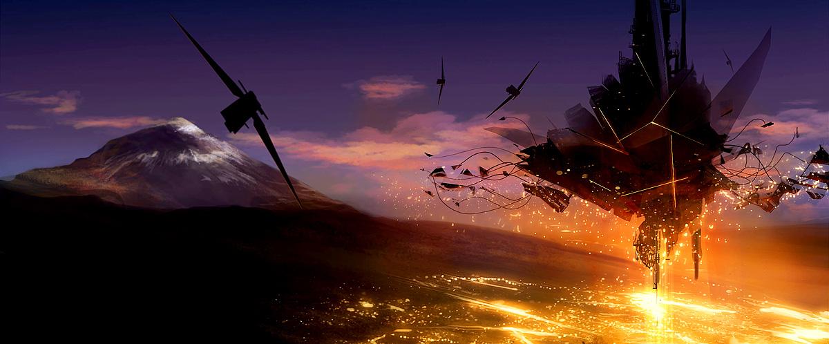 Aliens Weltuntergang