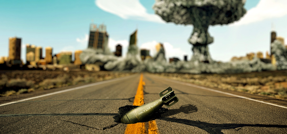 Atomkrieg Weltuntergang