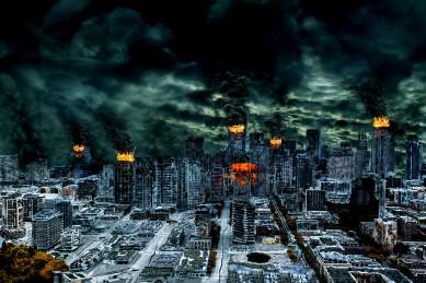 Nuclear war fallen misdirected gogo shag 9