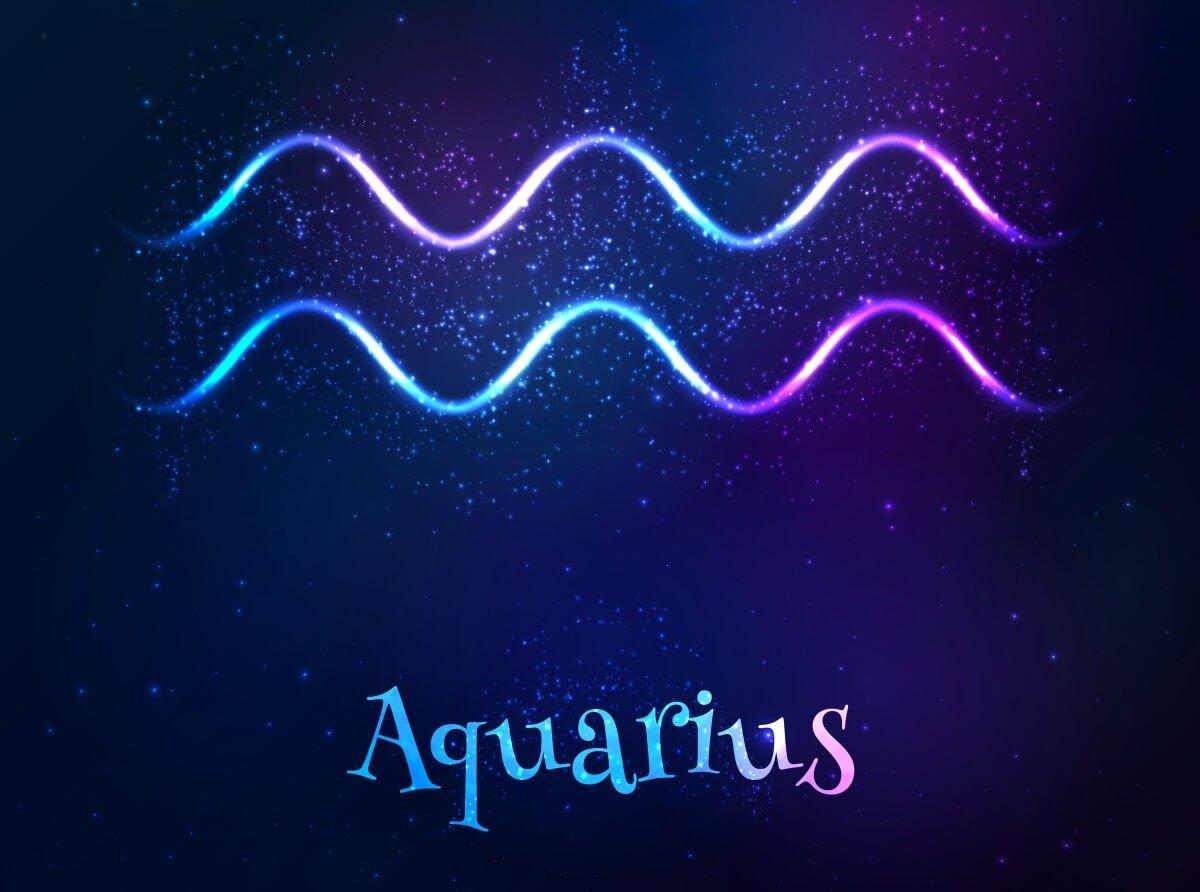 Symbol des Wassermanns