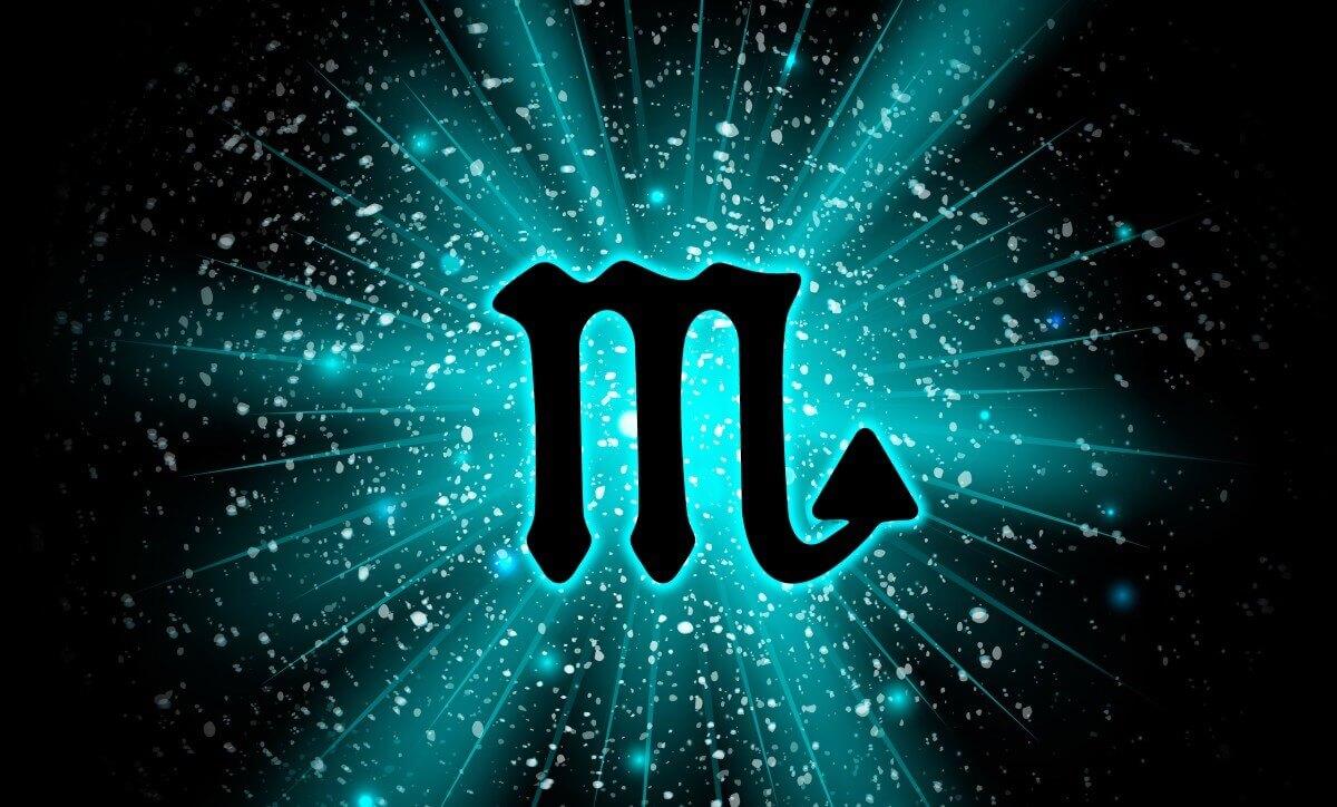 Symbol des Sternzeichens Skorpion